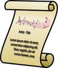 Lyrics Presenter Icon